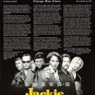 Jackie Brown Critics Original Movie Poster Single Sided 27x40