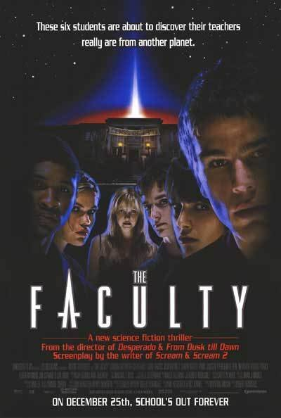 Faculty Original Movie Poster Single Sided 27x40