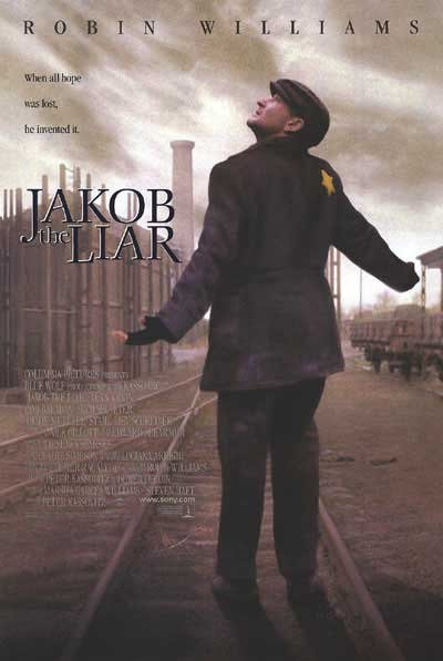 Jakob The Liar Original Movie Poster Double Sided 27x40