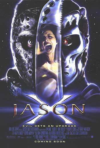 Jason X Original Movie Poster Single Sided 27x40
