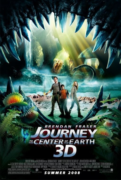 Journey To The Center Of The World Version B Original Movie Poster Double Sided 27x40