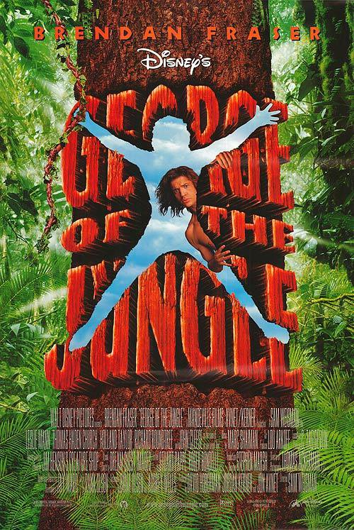 Geroge Of The Jungle Advance B Original Movie Poster Double Sided 27x40