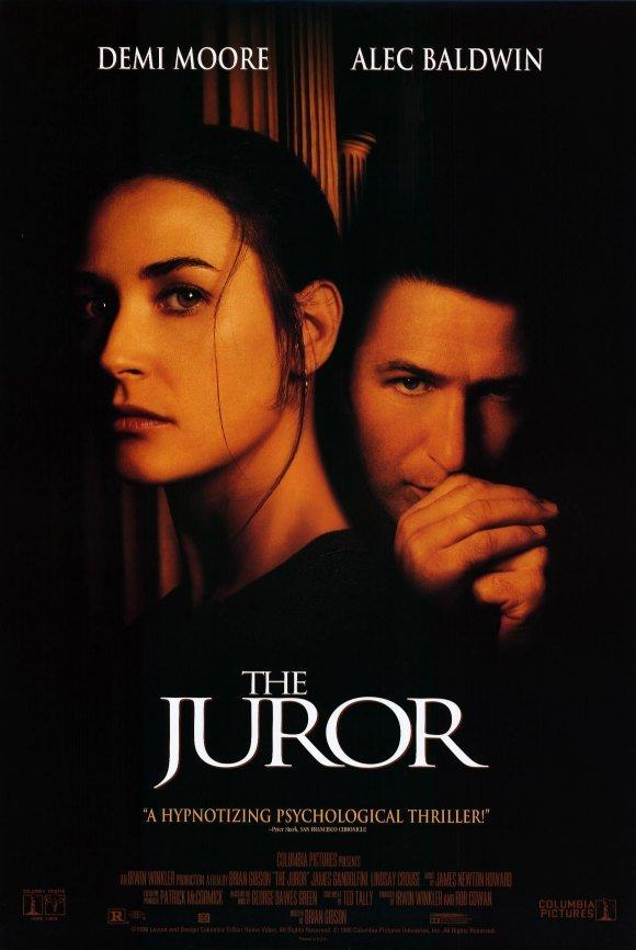 Juror Original Movie Poster Double Sided 27x40