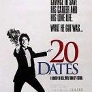20 Dates Original Movie Poster Single Sided  27x40