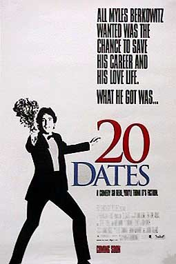 20 Dates Original Movie Poster Single Sided  27x40