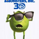 Monster Inc. 3D Movie Original Movie Poster Double Sided 27 X40