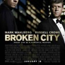 Broken City Movie Original Movie Poster Double Sided 27 X40