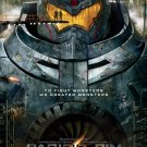 Pacific Rim Original Movie Poster Double Sided 27 X40