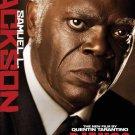 Django Unchained : Samuel Jackson Original Movie Poster Double Sided 27x40