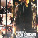 Jack Reacher Original Movie Poster Double Sided 27 X40