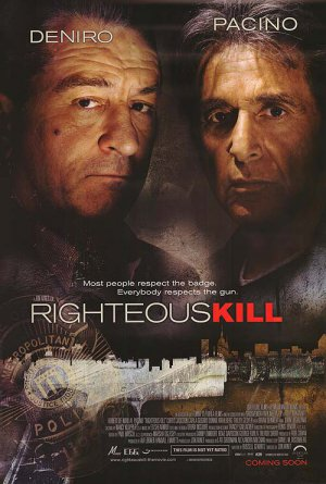 Righteous Kill Regular Original Movie Poster Double Sided 27x40