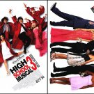 High School Musical 3 Original Movie Poster Double Sided 18x27