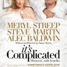 It's Complicated Regular  Original Movie Poster Double Sided 27x40