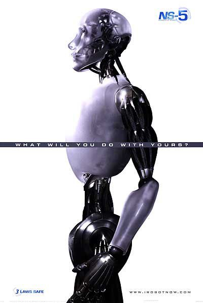 I Robot Advance A  Original Movie Poster Single Sided 27x40