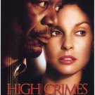 High Crimes Original Movie Poster Double Sided 27x40