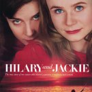 Hilary and Jackie Original Movie Poster Double Sided 27x40