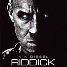Riddick 2013 Original Movie Poster Double Sided 27x40