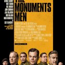 The Monuments Men Original Movie Poster Double Sided 27x40