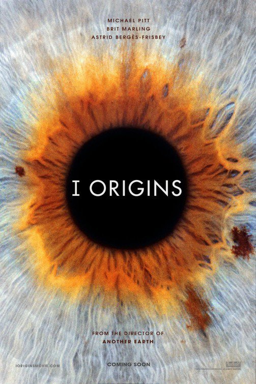I Origins Advance Original Movie Poster Double Sided 27x40