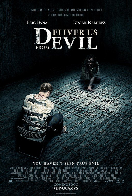 Deliver Us From evil Advance Original Movie Poster Double Sided 27x40