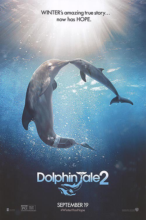 Dolphin Tale 2vOriginal Movie Poster Double Sided 27x40