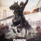 Dawn Of The planet Apes Final Original Movie Poster Double Sided 27x40