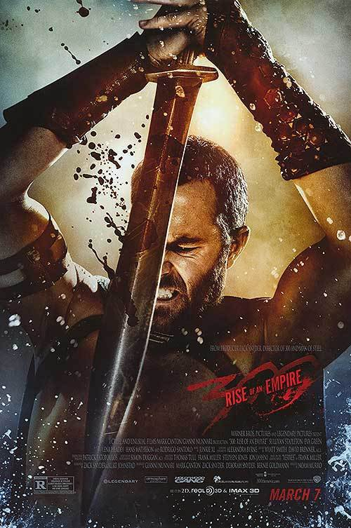 300 Rise Of The Empire Final Original Movie Poster Single Sided 27x40