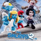 Smurfs 2 International B b Original Movie Poster Double Sided 27 X40