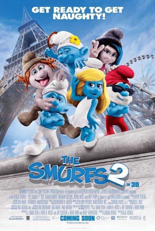 Smurfs 2 International A Original Movie Poster Double Sided 27 X40