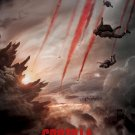 Godzilla 2014 Advance Original Movie Poster Double Sided 27x40