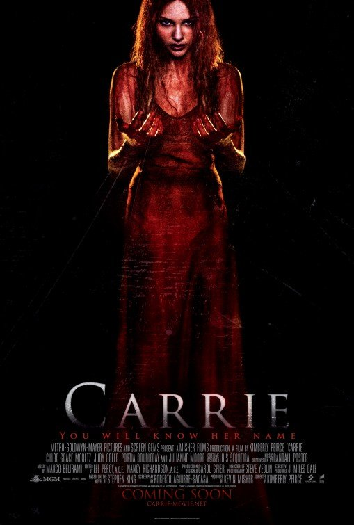 Carrie Intl 2013 Original Movie Poster Double Sided 27 X40