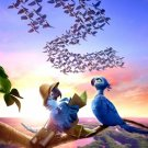 Rio 2 Advance Original Movie Poster Double Sided 27 X40