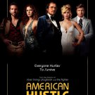 American Hustle Original Movie Poster Double Sided 27 X40