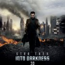 Star Trek : Into the Darkness Original Movie Poster Double Sided 27x40