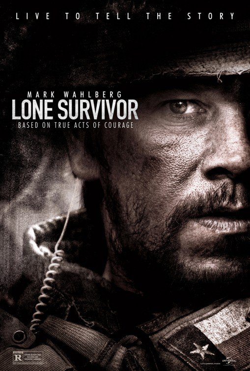 Lone Survivor Original Movie Poster Double Sided 27x40