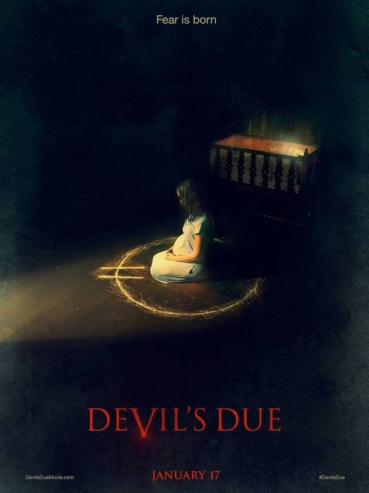 Devil's Due Original Movie Poster Double Sided 27x40