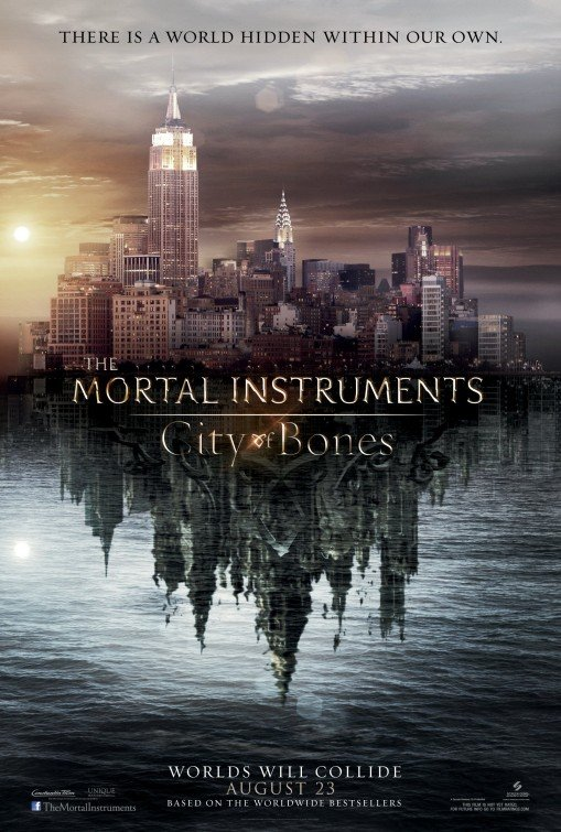 Mortal Instruments : City Of Bone Adv Original Movie Poster Single Sided 27x40