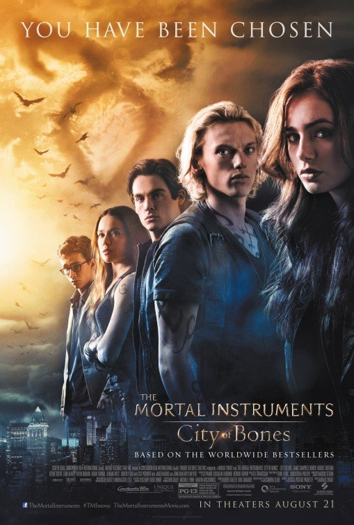 Mortal Instruments : City Of Bone Regular Original Movie Poster Double Sided 27x40