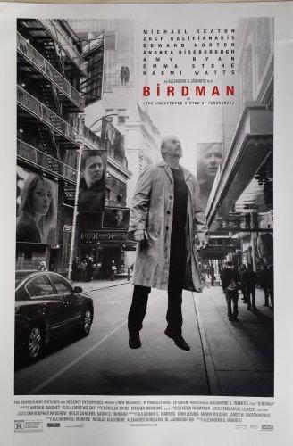 Birdman  Original Movie Poster Single Sided 13x19