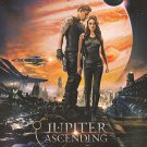 Jupiter Ascending Recalled  Original Movie Poster Double Sided 27x40