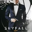 Skyfall Regular October Original Movie Poster Double Sided 27 X40
