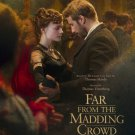 Far From The Madding Crowd  Final Original Movie Poster Double Sided 27x40