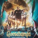 Goosebumps Intl Double Sided Original Movie Poster 27x40