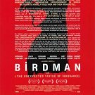 Birdman Preview New York Times  Original Movie Poster Double Sided 27x40
