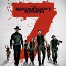Magnificent 7 Original Movie Poster Double Sided 27x40