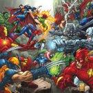 Marvel VS Dc Style c Poster 13x19