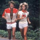 Farrah Fawcett and Lee Majors  Style k Poster 13x19 inches