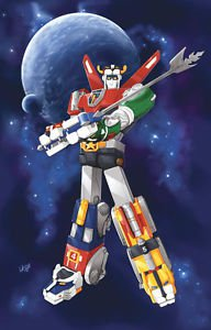 Voltes V Voltron Poster Style w 13x19