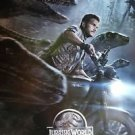 Jurassic World (2015) Regular Original Movie Poster Double Sided 27x40