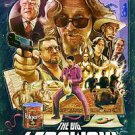 Big Lebowski Style B Movie Poster 13x19 inches